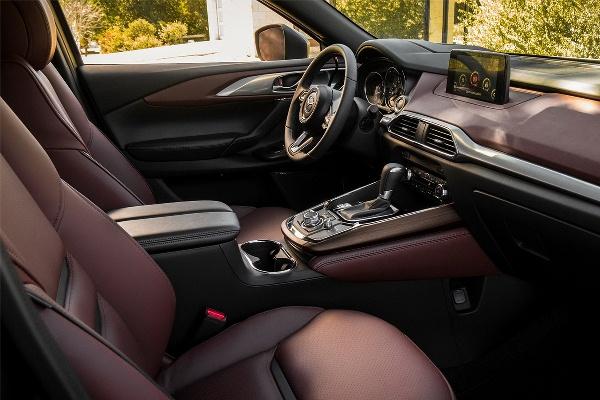Noua Mazda CX-9 2016 foto interior