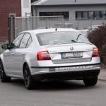 Noua Skoda Octavia RS spate