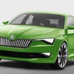 Noua Skoda Superb 2015 va fi inspirata de la conceptul VisionC