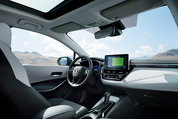 Noua Toyota Corolla Touring Sport 2018 - Corolla break interior