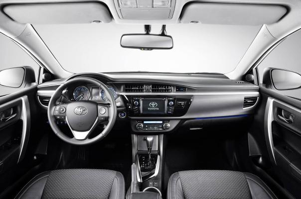 Noua Toyota Corolla interior Noua Toyota Corolla: oficial foto si detalii