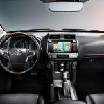 Noua Toyota Land Cruiser Prado facelift 2017 interior