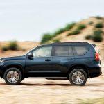 Noua Toyota Land Cruiser Prado facelift 2017 lateral