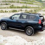 Noua Toyota Land Cruiser Prado facelift 2017 spate