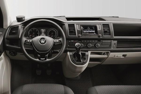 Noul Transporter T6 2015 interior