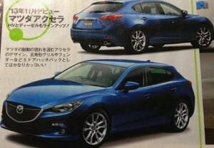 Noua generatie Mazda 3
