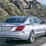Noua generatie Mercedes E-Class spate