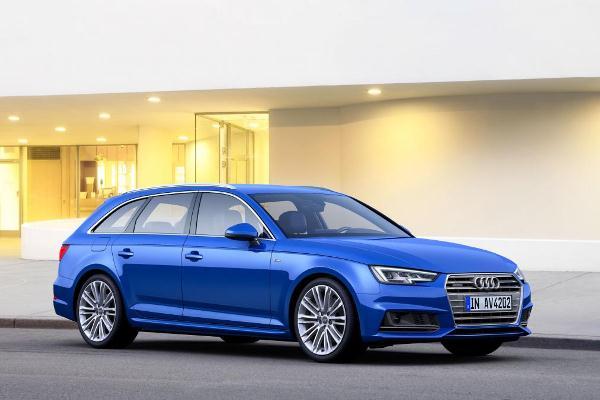 Noua generatie a lui Audi A4 Avant estate foto