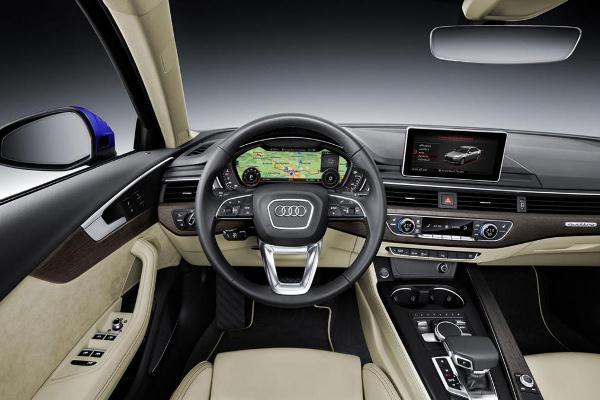 Noua generatie a lui Audi A4 imagini interior