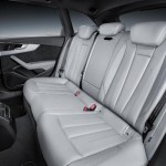 Noua generatie a lui Audi A4 interior spate