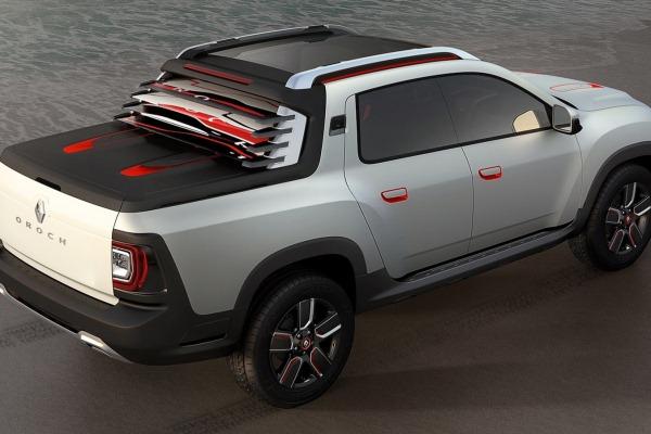 Noua generatie a lui Dacia Duster - conceptul oroch 2
