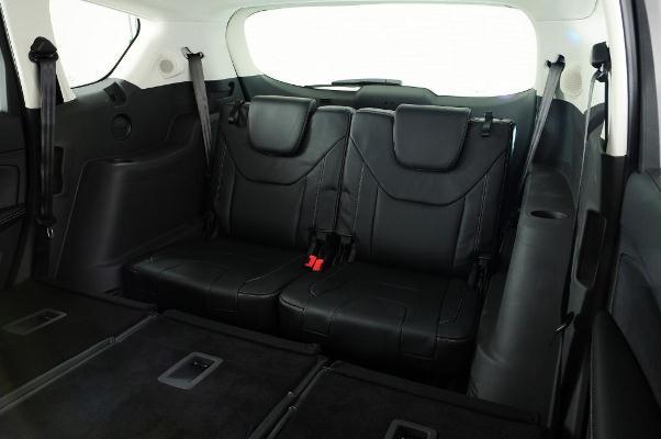 Noua generatie a lui Ford S-Max pentru 2015 interior spate