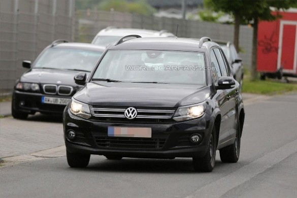 Noua generatie a lui VW Tiguan la teste