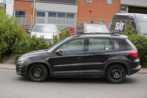 Noua generatie a lui VW Tiguan poze