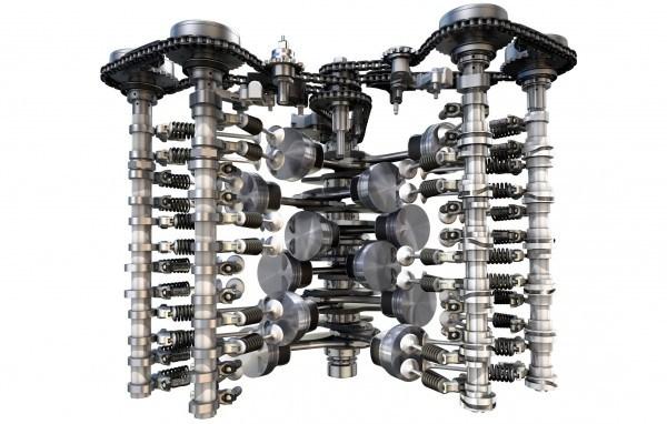 Noile motoare VW 2015 - motor VW W12 TSI