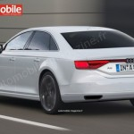 Noul A8 pentru 2016 spate - ilustratii L'Automobile