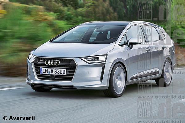 Noul Audi A3 minivan