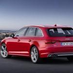 Noul Audi A4 2015 estate Avant B9 foto spate