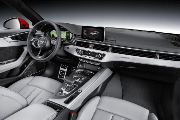 Noul Audi A4 2015 interior - multimedia cu ecran de 8 inch
