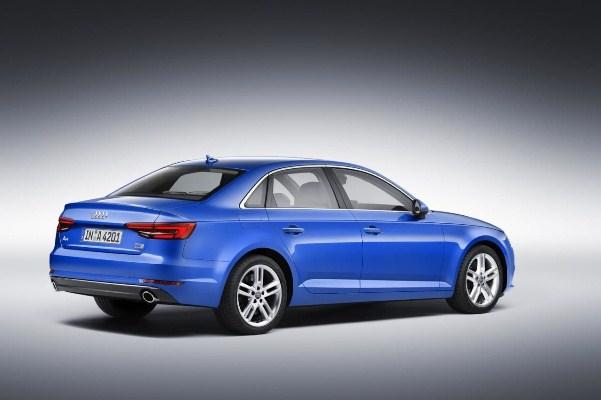 Noul Audi A4 2015 sedan foto spate
