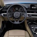 Noul Audi A5 2016 interior