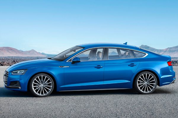 Noul Audi A5 2016 lateral