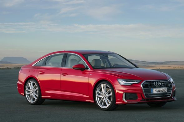 Noul Audi A6 2018 red