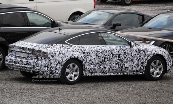 Noul Audi A7 2014 facelift lateral