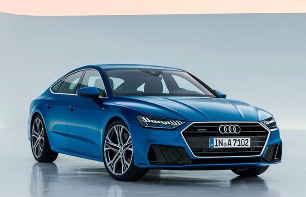 Noul Audi A7 Sportback fata