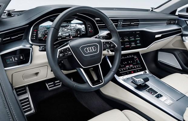 Noul Audi A7 Sportback interior