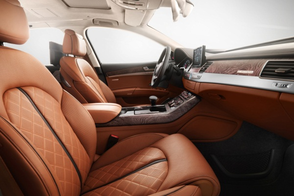 Noul Audi A8 2013 Exclusive interior