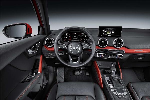 Noul Audi Q2 interior