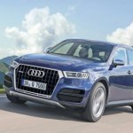 Noul Audi Q7 - schita