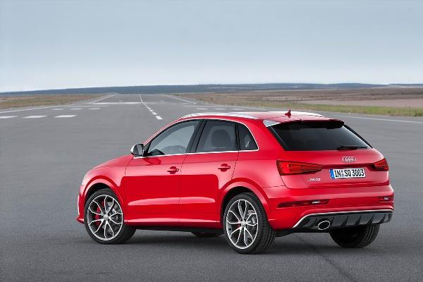Noul Audi RS Q3 2014 facelift spate