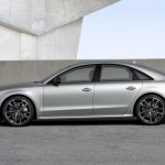 Noul Audi S8 Plus imagini lateral