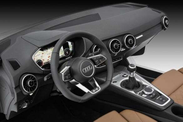 Noul Audi TT 2015 bord