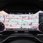 Noul Audi TT 2015 ecranul de bord