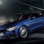 Noul BMW Alpina B4 Bi-turbo 2014 in motion