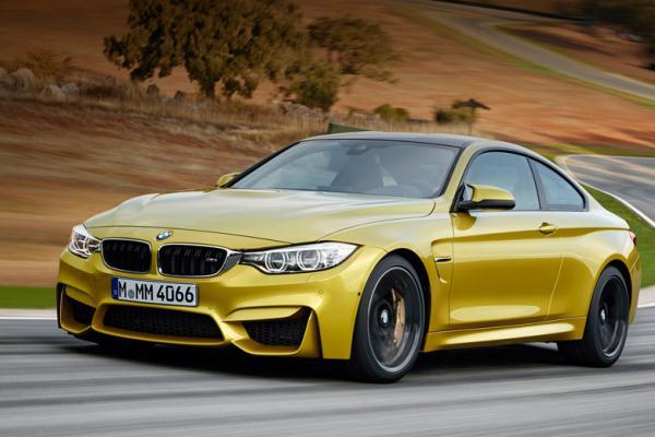 Noul BMW M3 in motion fata