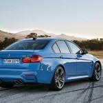 Noul BMW M3 spate