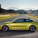 Noul BMW M4 lateral