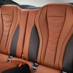 Noul BMW Seria 8 interior spate