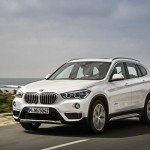 Noul BMW X1 alb foto