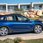 Noul BMW X1 blue lateral foto