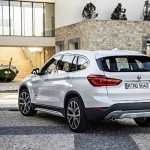 Noul BMW X1 spate poze