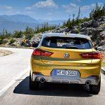 Noul BMW X2 spate