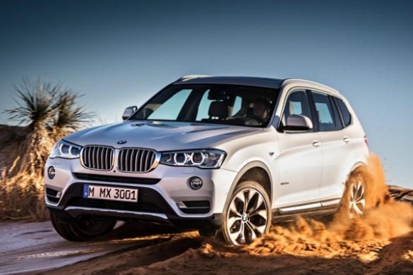 Noul BMW X3 facelift 2014