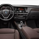 Noul BMW X3 facelift 2014 interior