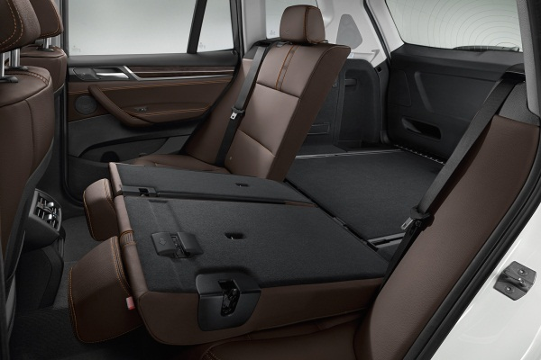 Noul BMW X3 facelift 2014 interior spate