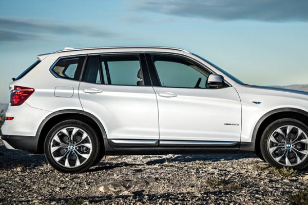 Noul BMW X3 facelift 2014 lateral